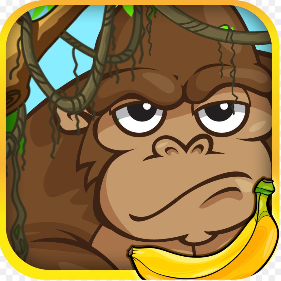 Gorilla clip art png. Ape clipart baboon