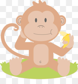 Ape clipart baby. Monkey drawing cartoon clip
