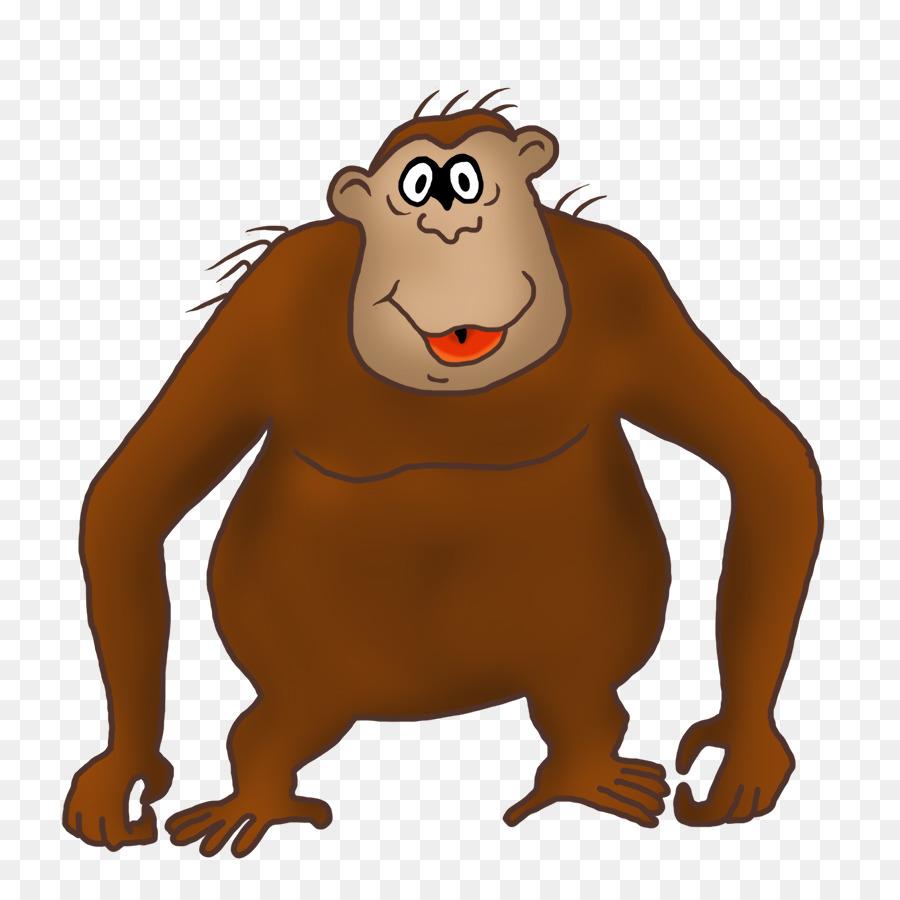 Gorilla drawing clip art. Ape clipart big monkey