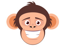 Free clip art pictures. Monkey clipart