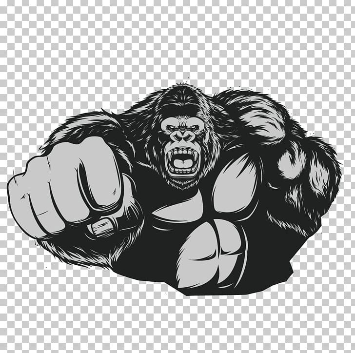 Ape clipart gorilla arm. Western king kong chimpanzee