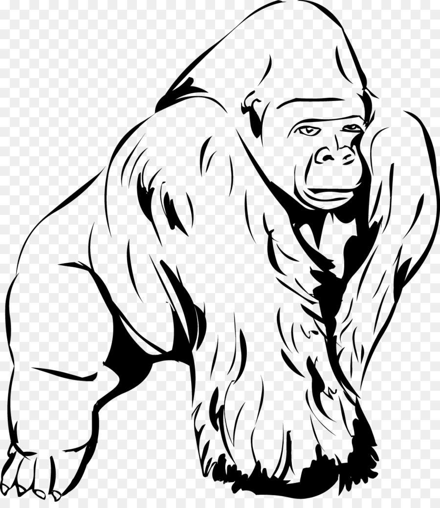Giant panda clip art. Ape clipart gorilla arm