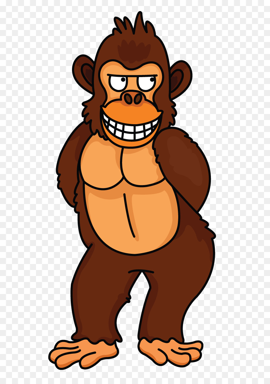 Baby drawing at getdrawings. Ape clipart gorilla family