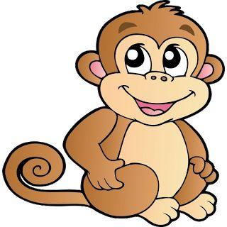 best monkeys images. Ape clipart kid