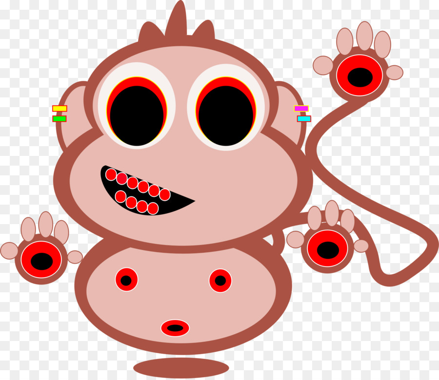 Ape clipart macaque. Monkey japanese clip art