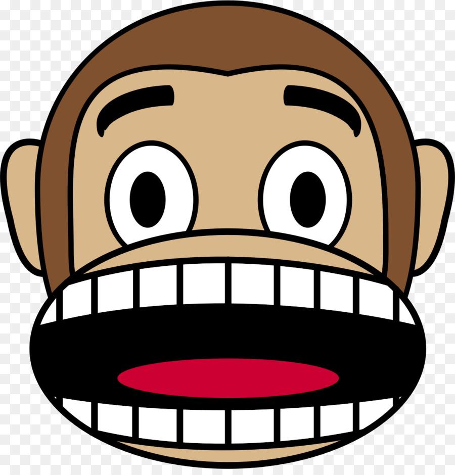Monkey emoji japanese clip. Ape clipart macaque