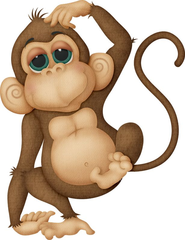 best monkeys and. Ape clipart macaque