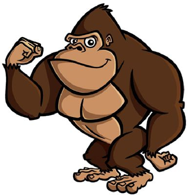best images on. Ape clipart macaque