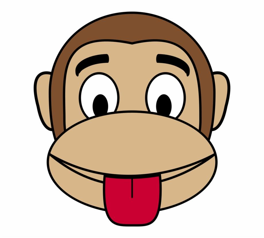 Ape clipart mongkey. Emoji monkey happiness smiley