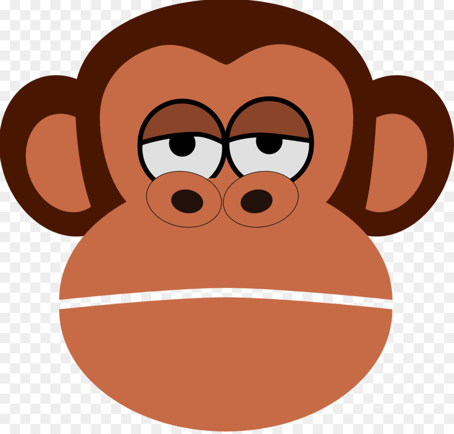 Clip art monkey cartoon. Ape clipart monket