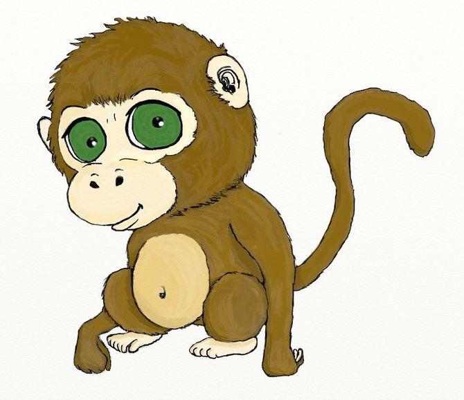 ways to draw. Ape clipart realistic