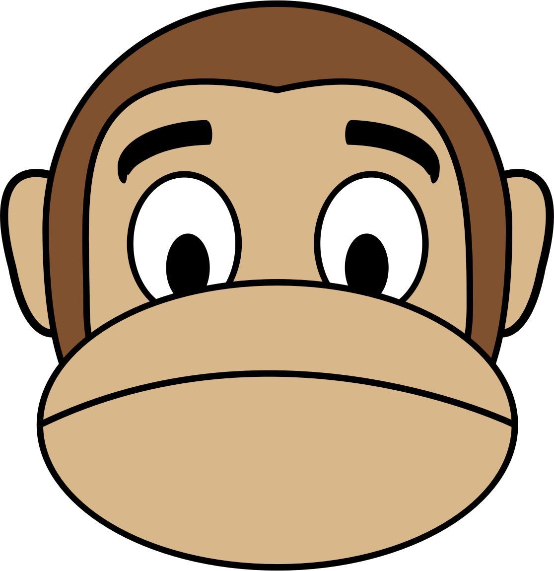Ape clipart sad. Free monkey icons png