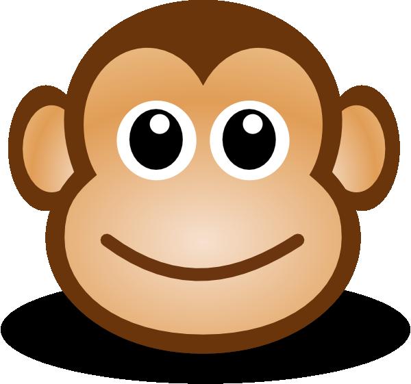 Ape clipart sad. Chimpanzee monkey cartoon clip