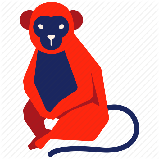 Iconfinder chinese zodiac by. Ape clipart year monkey