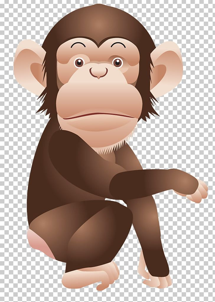 Ape clipart year monkey. Chimpanzee png animals cartoon