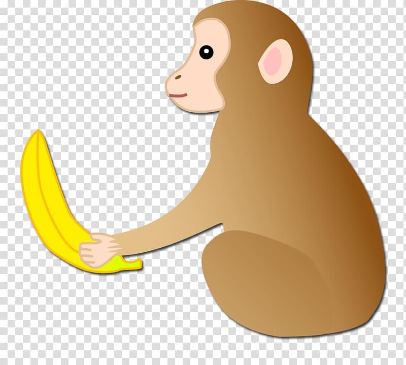 Ape clipart yellow. Carnivora cartoon illustration monkey