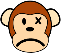 Ape clipart yellow. Free monkey page of