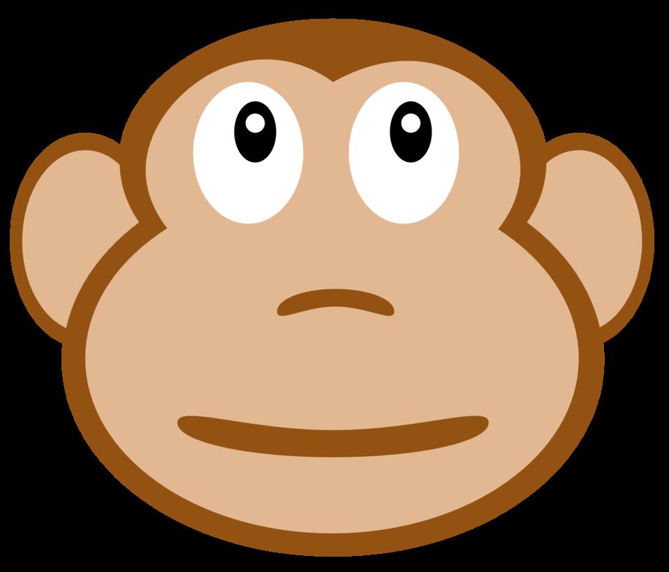Ape clipart yellow. Public domain clip art