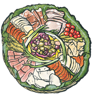 Zingerman s catering ann. Appetizers clipart antipasto