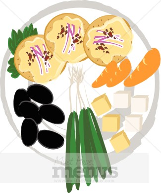 Catering clipart appetizer. Tray