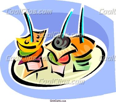 Appetizers clipart cartoon. Appetizer panda free images