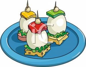Royalty free image egg. Appetizers clipart cartoon