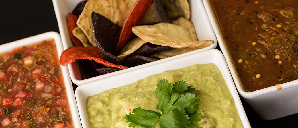 Appetizers clipart chip guacamole. Catering menus by bekker