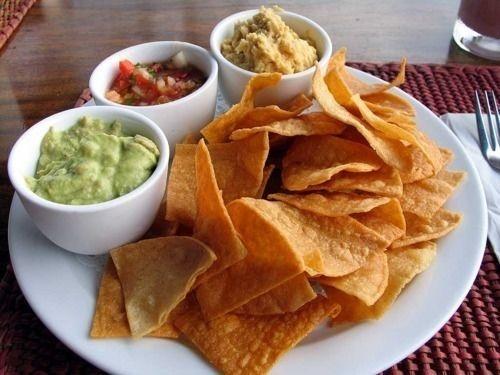 best chips salsa. Appetizers clipart chip guacamole