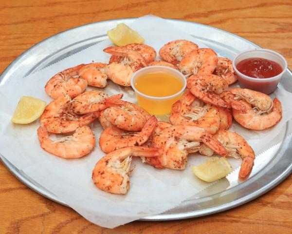 Appetizers clipart cooked shrimp. Charlie horse restaurant menu