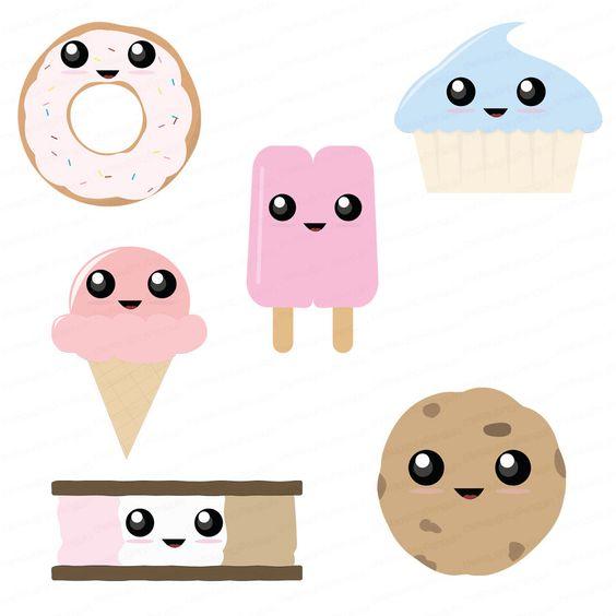 Free cliparts appetizers desserts. Cute clipart dessert