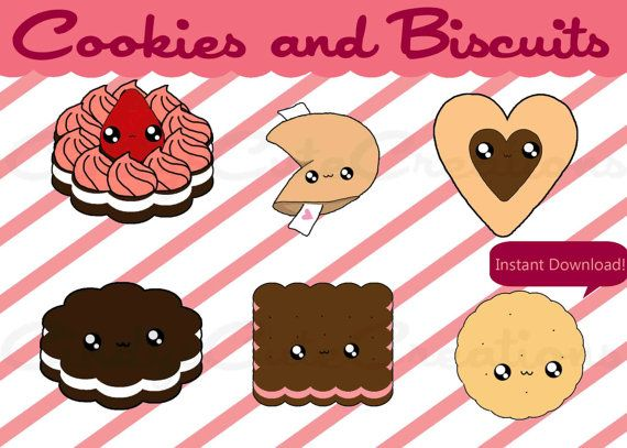 best images on. Brownie clipart kawaii