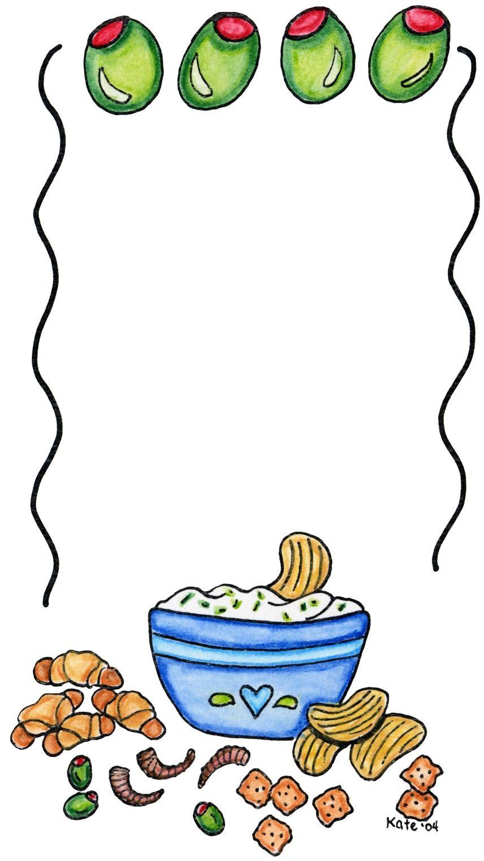 Fr jpg cookbook pinterest. Appetizers clipart cute
