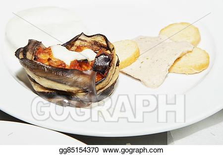 Stock illustration appetizer with. Appetizers clipart drawing