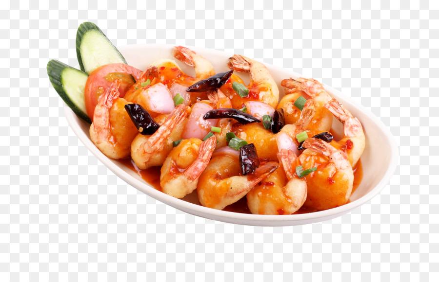 Fried shrimp dish seafood. Appetizers clipart fish finger
