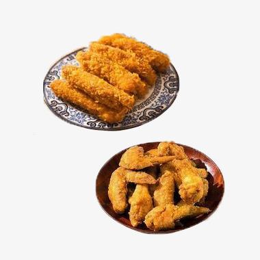 Appetizers clipart fried chicken wing. Crispy wings snacks goods