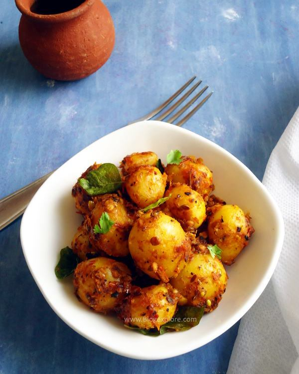 Baby fry small chettinad. Appetizers clipart fried potato