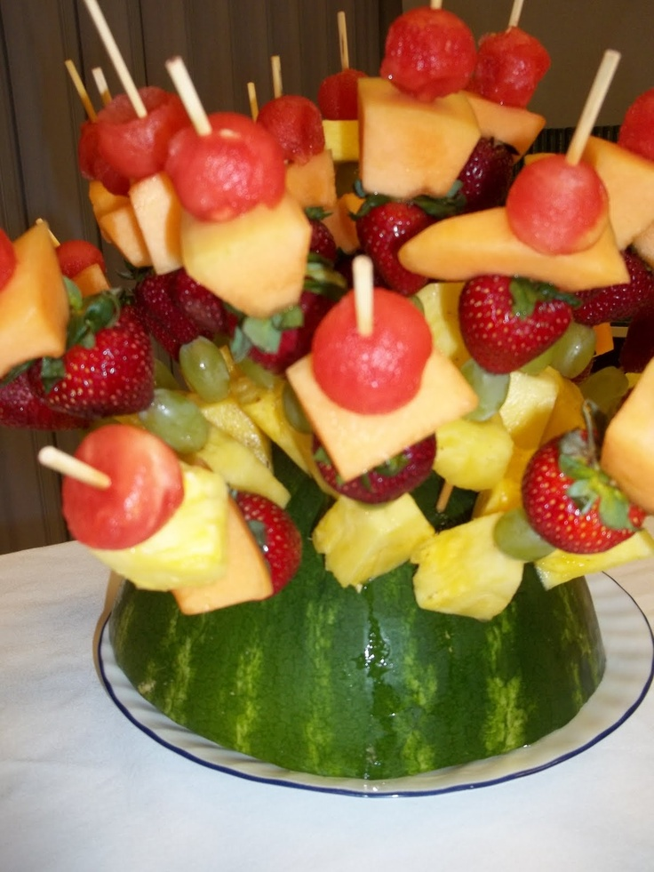 best ice images. Appetizers clipart fruit kabob