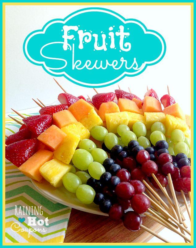 Appetizers clipart fruit kabob.  best brunch images