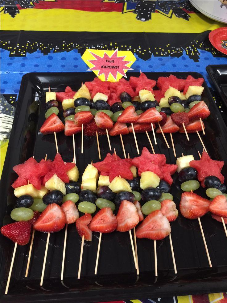best vbs hero. Appetizers clipart fruit skewer