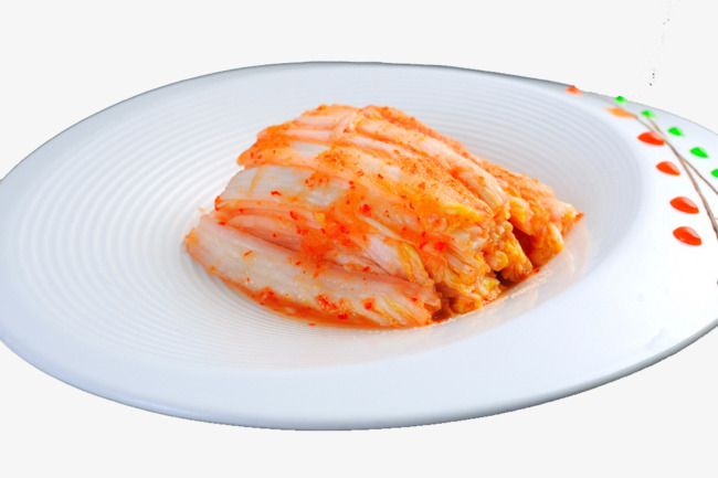 Appetizers clipart gourmet meal. Korean spicy cabbage food