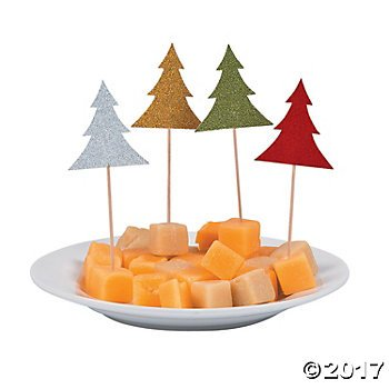 Glitter christmas tree food. Appetizers clipart gourmet meal