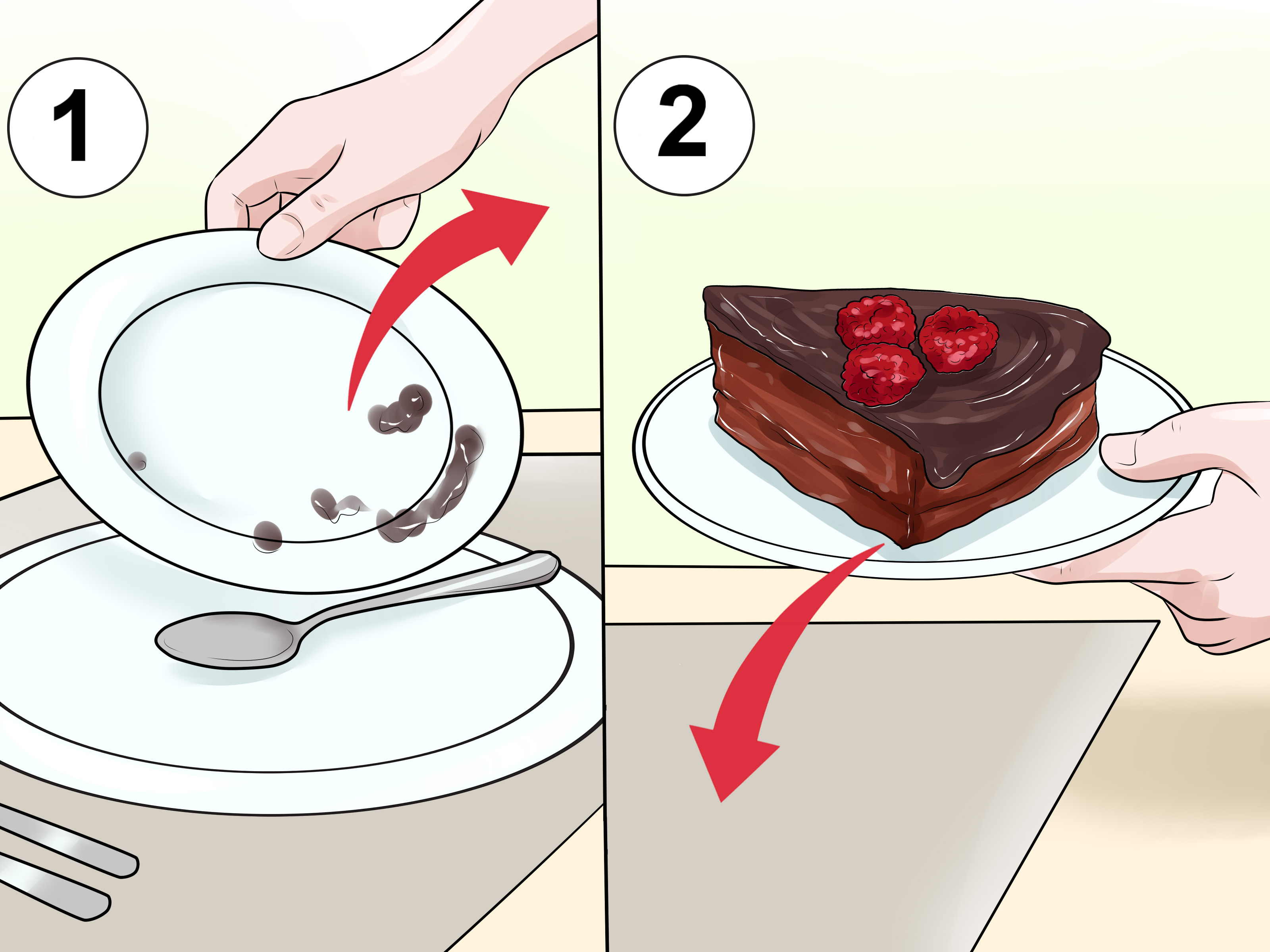 Appetizers clipart gourmet meal. How to serve a
