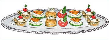Appetizers clipart hors d oeuvres. Free hor oeurvres doeuvres