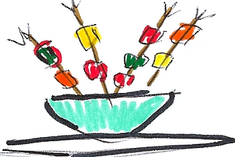 appetizers clipart hors d oeuvres