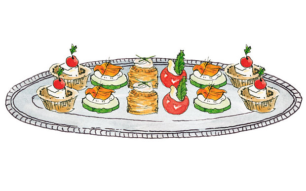 Cliparts zone . Appetizers clipart hors d oeuvres