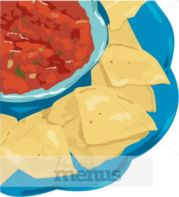 Chips clipart nacho chip. And salsa clip art