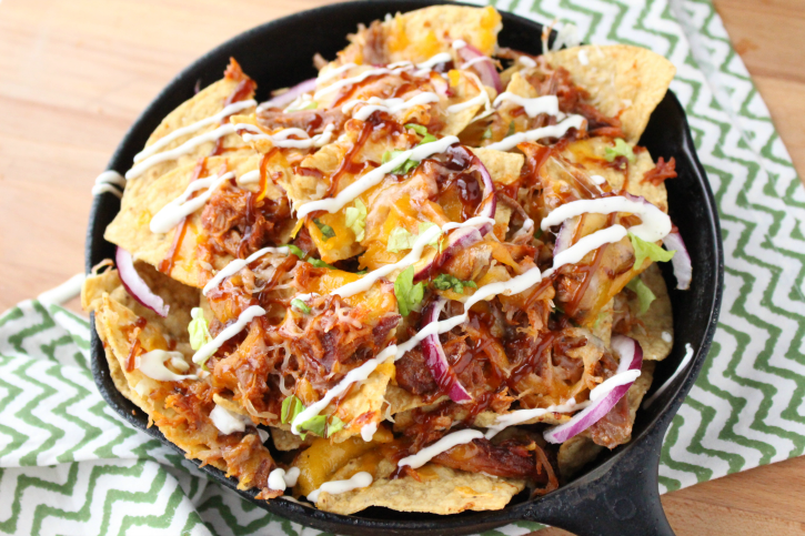 Appetizers clipart nacho. Pulled pork nachos family