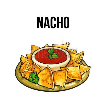 Appetizer cliparts free download. Nacho clipart appitizer