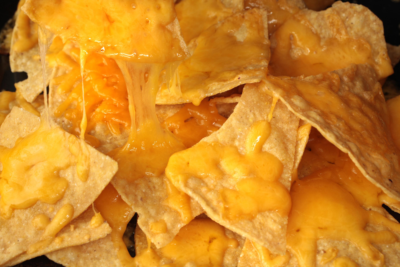 Basic cheese nachos recipe. Appetizers clipart nacho
