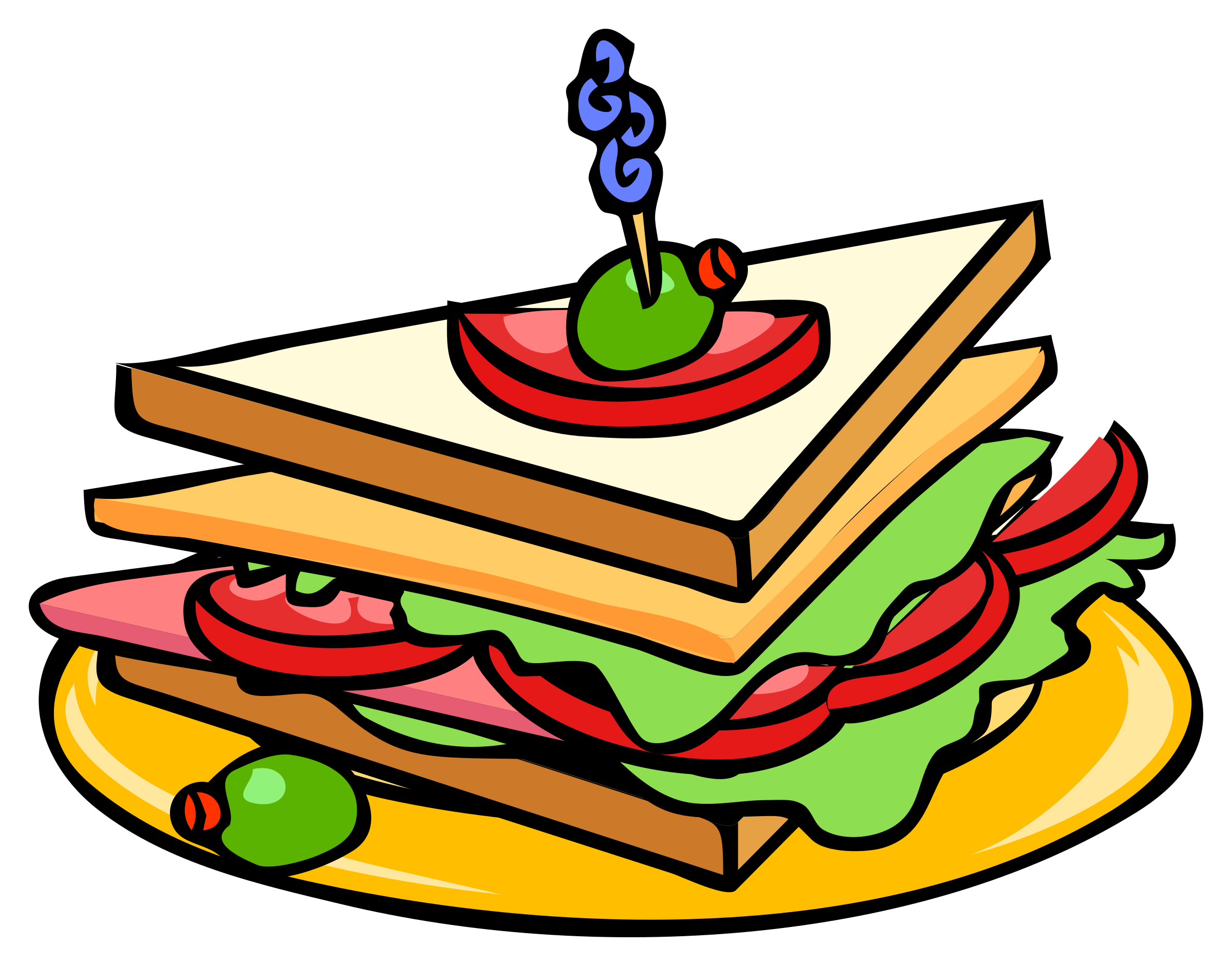 F a q real. Clipart lunch sandwich lunch